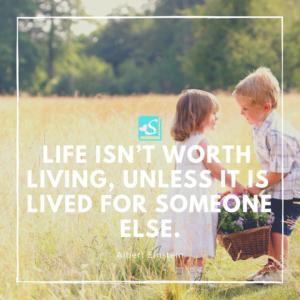 英語で名言「価値ある人生とは」アルベルト ...